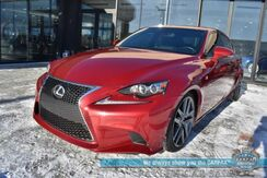2014_Lexus_IS 350_AWD / F-Sport / Auto Start / Heated Leather Seats / Navigation / Mark Levinson Speakers / Sunroof / Blind Spot Alert / Bluetooth / Back Up Camera / Cruise Control / 26 MPG / Only 43k Miles_ Anchorage AK