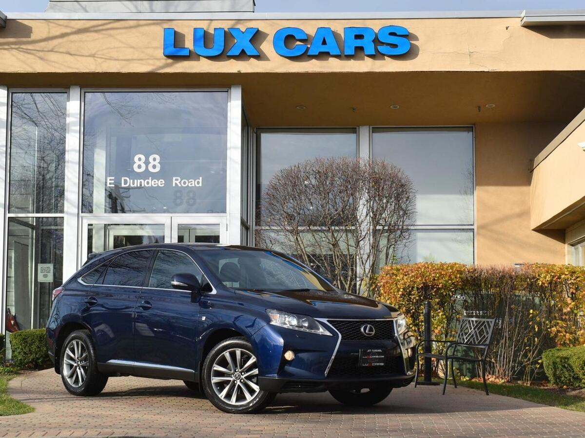 2014_Lexus_RX 350_F-Sport Nav AWD_ Buffalo Grove IL