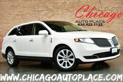 2014_Lincoln_MKT_EcoBoost - 3.5L V6 ENGINE ALL WHEEL DRIVE NAVIGATION KEYLESS GO BACKUP CAMERA PANO ROOF POWER FOLD 3RD ROW BROWN LEATHER HEATED/COOLED SEATS XENONS BLUETOOTH_ Bensenville IL