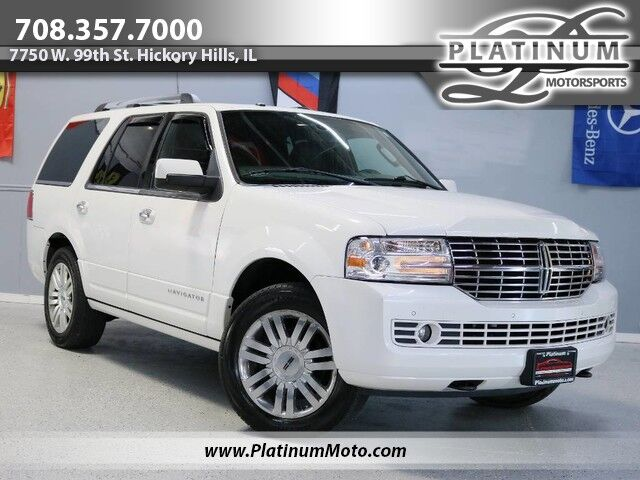 2014 Lincoln Navigator 2 Owner Nav Roof Leather Loaded Hickory Hills IL