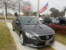 2014_MAZDA_6_ITOURING TECH, WARRANTY, LEATHER, NAV, PARKING SENSORS, BACKUP CAM, BLUETOOTH, KEYLESS START, A/C!!!_ Norfolk VA