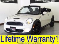 MINI Cooper CONVERTIBLE S COLD WEATHER PKG LEATHER HEATED SEATS BLUETOOTH KEYLESS START 2014