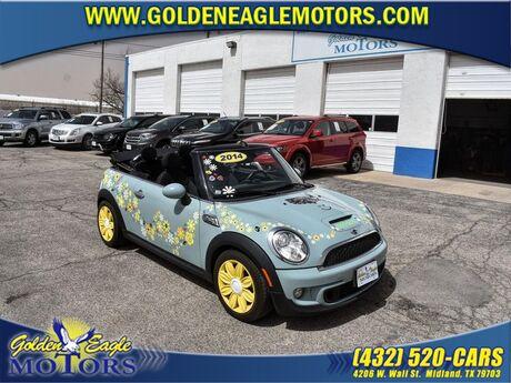 2014 MINI Cooper Convertible 2DR S Midland TX