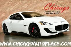 2014_Maserati_GranTurismo_MC SPORT - 4.7L V8 ENGINE BLACK/RED LEATHER SPORT SEATS CARBON FIBER TRIM + ACCENTS NAVIGATION PARKING SENSORS BOSE AUDIO XENONS BLACK WHEELS_ Bensenville IL