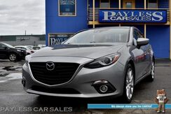 2014_Mazda_Mazda3_s Grand Touring / Tech Pkg / Heated Leather Seats / Navigation / Bose Speakers / Sunroof / Adaptive Cruise / HUD / Collision & Lane Departure Alert / Keyless Entry & Start / Block Heater_ Anchorage AK