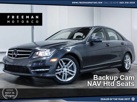 2014_Mercedes-Benz_C 250_Sport Backup Cam NAV Htd Seats_ Portland OR