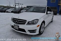 2014_Mercedes-Benz_C 300_Sport 4Matic AWD / Premium 1 Pkg / Power & Heated Leather Seats / Sunroof / Harman Kardon Speakers / Bluetooth / Cruise Control / Aluminum Wheels / Keyless Entry / Only 65k Miles_ Anchorage AK
