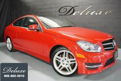Mercedes-Benz C 350 4MATIC Coupe, AMG Sport Line, Navigation System, Rear-View Camera, Harman Kardon Premium Sound, Heated Leather Seats, Panorama Sunroof, 18-Inch AMG Alloy Wheels, 2014