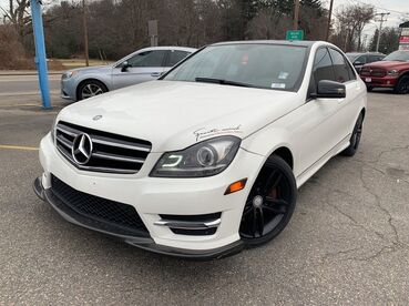 2014_Mercedes-Benz_C-Class_C 300 Luxury_ Worcester MA