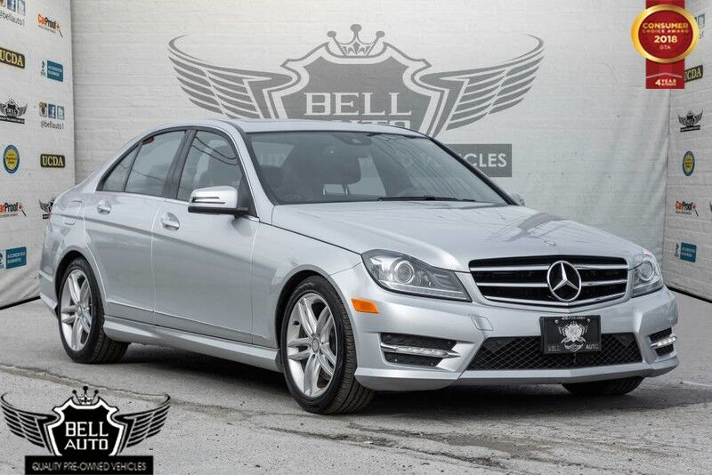 2014 Mercedes Benz C300 4MATIC NAVI LEATHER SUNROOF BACK UP CAMERA LANE  ASSIST Toronto