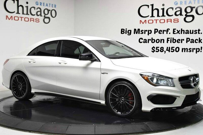 2014_Mercedes-Benz_CLA 45 AMG $58,495 msrp 1 Owner_Premium Package~Amg Driver Package~Multimedia Pack_ Chicago IL