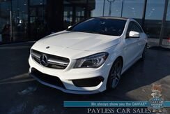 2014_Mercedes-Benz_CLA_45 AMG / AWD / Heated Leather Seats / Harman Kardon Speakers / Navigation / Sunroof / Blind Spot / Bluetooth / Back Up Camera / 31 MPG / Only 47K Miles_ Anchorage AK