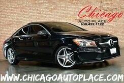 2014_Mercedes-Benz_CLA-Class_CLA 250 - 2.0L I4 TURBO ENGINE AMG SPORT PACKAGE FRONT WHEEL DRIVE NAVIGATION BACKUP CAMERA BLACK LEATHER HEATED SEATS SPORT SEATS PANO ROOF HARMAN/KARDON AUDIO_ Bensenville IL