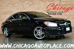 2014_Mercedes-Benz_CLA-Class_CLA 250-4MATIC - AMG SPORT PACKAGE 2.0L I4 TURBO ENGINE ALL WHEEL DRIVE NAVIGATION BACKUP CAMERA PANO ROOF BLACK LEATHER HEATED SEATS_ Bensenville IL