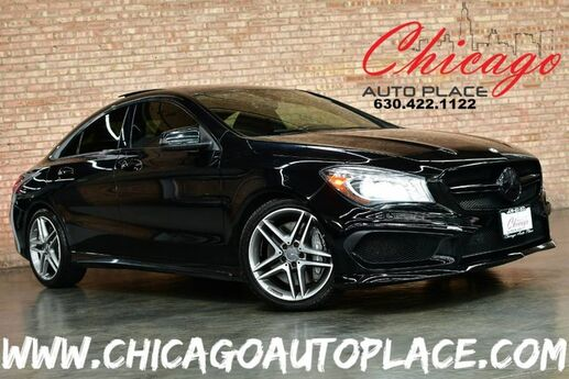 2014 Mercedes-Benz CLA-Class CLA 45 AMG 4MATIC - 2.0L I4 TURBO ENGINE ALL WHEEL DRIVE NAVIGATION BACKUP CAMERA BLACK LEATHER/SUEDE INTERIOR HEATED SEATS SUNROOF XENONS Bensenville IL