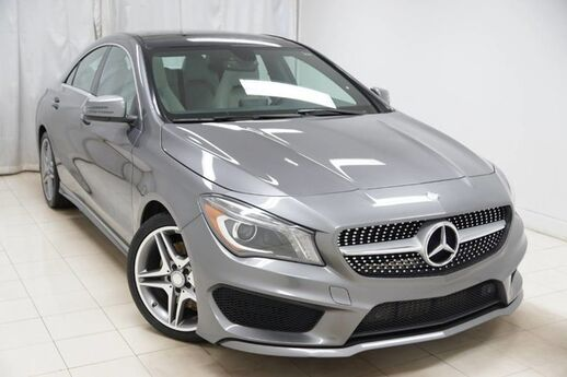 2014 Mercedes-Benz CLA-Class CLA250 4MATIC Sports HID Panoramic Harmon Kardon Avenel NJ