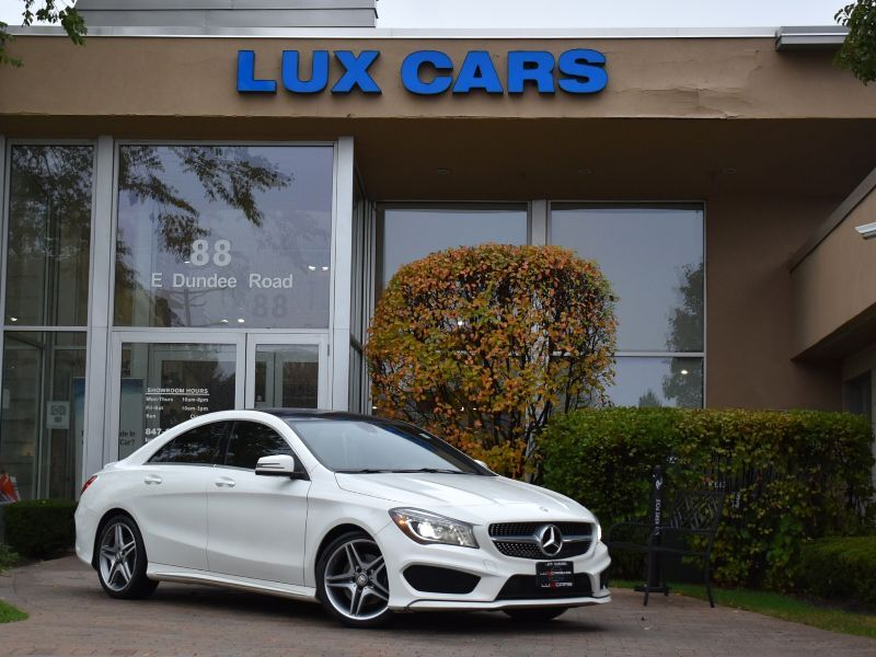 2014_Mercedes-Benz_CLA250_SPORT AMG PANOROOF P1 NAV 4MATIC MSRP $42,875_ Buffalo Grove IL