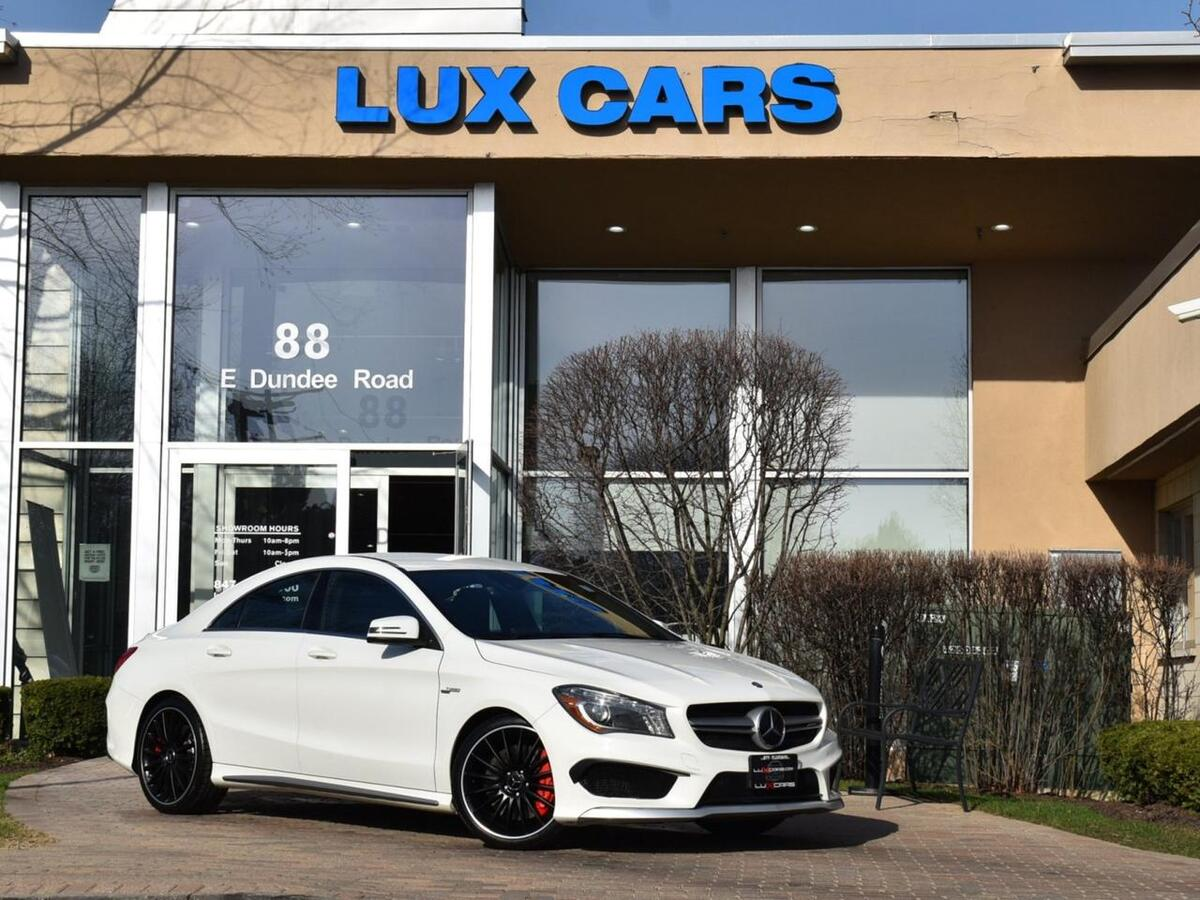2014_Mercedes-Benz_CLA45_AMG Nav Performance AWD MSRP $60,345_ Buffalo Grove IL