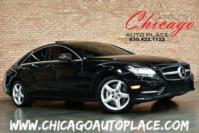 2014 Mercedes-Benz CLS 550 4MATIC - 4.6L BI-TURBO V8 NAVIGATION BACKUP CAMERA KEYLESS GO BLACK LEATHER HEATED/COOLED SEATS XENONS DYNAMIC SEATS KEYLESS GO POWER SUNSHADES Bensenville IL