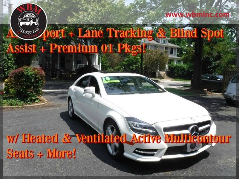 2014 mercedes benz cls 550 4matic w sport package for Mercedes benz of arlington arlington va