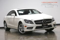 2014_Mercedes-Benz_CLS 550_P1 Pkg/ Lane Tracking Pkg/ Heated Steering Wheel_ Bensenville IL