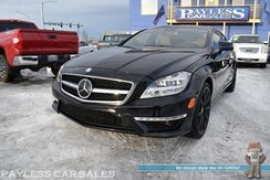 2014_Mercedes-Benz_CLS 63_AMG S / 4Matic AWD / 5.5L Bi-Turbo 577 HP V8 / Driver Assist Pkg / Heated & Cooled Leather Seats / Navigation / Sunroof / Harman Kardon Speakers / Bluetooth / Back Up Camera / Adaptive Cruise / Blind Spot Asst._ Anchorage AK