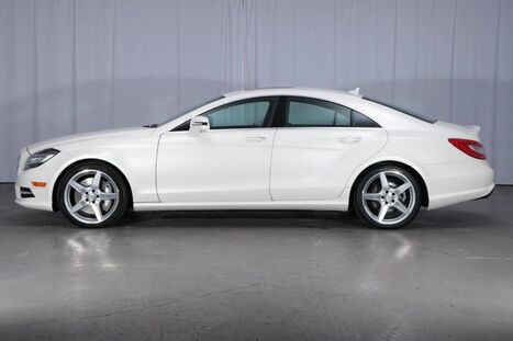Mercedes-Benz CLS-Class 4MATIC AWD Sedan CLS 550 2014