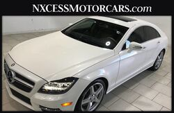 2014_Mercedes-Benz_CLS-Class_CLS 550 CLEAN CARFAX, NAVI, HEATED SEATS, V8_ Houston TX