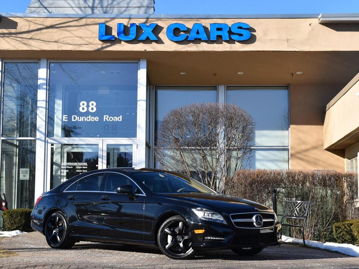 2014_Mercedes-Benz_CLS550_Sport Nav P1 Distronic Plus 4MATIC MSRP $82,875_ Buffalo Grove IL