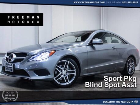 2014_Mercedes-Benz_E 350_4MATIC Coupe Blind Spot Asst 21K_ Portland OR