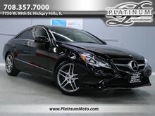 2014_Mercedes-Benz_E 350 4Matic Coupe_Sport Pkg Pano Nav Keyless Wood Loaded_ Hickory Hills IL