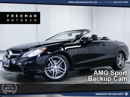 2014_Mercedes-Benz_E 350_Cabriolet AMG Sport Pkg Htd Seats_ Portland OR
