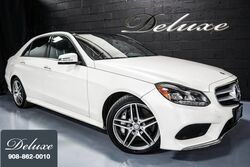 Mercedes-Benz E 550 4MATIC Sport, Premium Package, Lane Tracking Package, Haman/Kardon Sound System, Panorama Sunroof, 2014