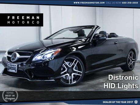 2014_Mercedes-Benz_E 550_Cabriolet AMG Sport Distronic Htd/Cooled Seats_ Portland OR
