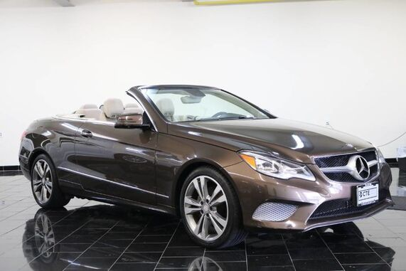 2014_Mercedes-Benz_E-Class_2dr Cabriolet E 350 RWD, 1 Owner, Premium 1 Package, Parking Assist Package, Navigation, Back-up Camera, Rear Parking Aid, Keyless Go,_ Leonia NJ
