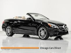 2014_Mercedes-Benz_E-Class_E 350 Cabriolet Sport_ Addison IL