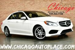 2014_Mercedes-Benz_E-Class_E 350 Sport 4MATIC - AMG SPORT PACKAGE 3.5L V6 ENGINE ALL WHEEL DRIVE NAVIGATION BACKUP CAMERA PANO ROOF BLACK LEATHER HEATED SEATS XENONS_ Bensenville IL