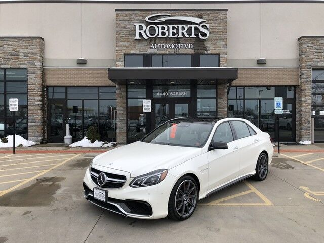 2014 Mercedes Benz E Class E 63 Amg S Model Springfield Il 26775759