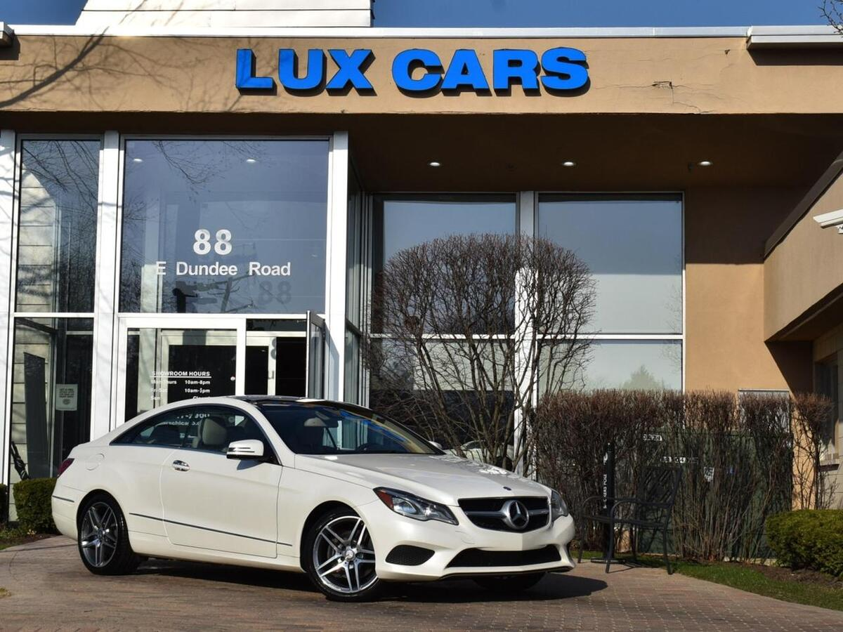 2014_Mercedes-Benz_E350_Coupe Sport AMG Nav 4MATIC MSRP $64,975_ Buffalo Grove IL