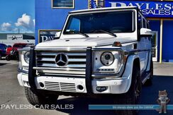 2014_Mercedes-Benz_G 550_4Matic AWD / 5.5L V8 / Heated & Cooled Designo Leather Seats / Navigation / Sunroof / Harman Kardon Speakers / AMG Wheels / Adaptive Cruise Control / Tow Pkg_ Anchorage AK