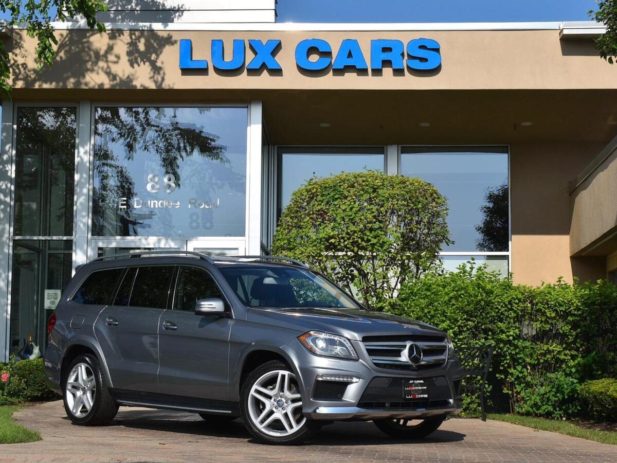 2014_Mercedes-Benz_GL550_Sport Nav 4MATIC MSRP $96,330_ Buffalo Grove IL