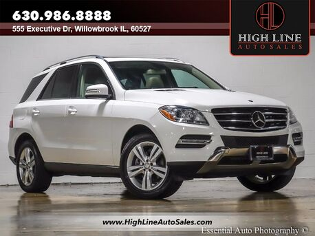 2014_Mercedes-Benz_M-Class_ML 350_ Willowbrook IL