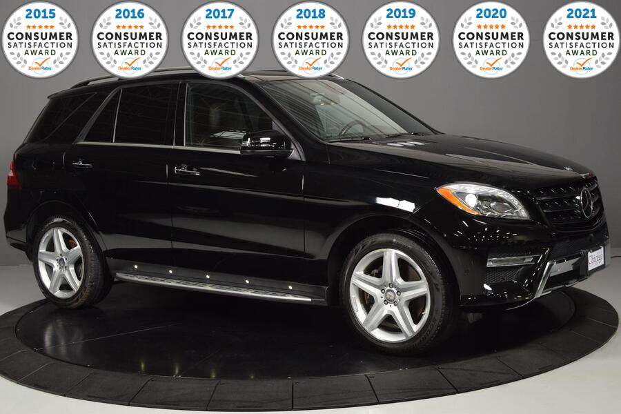 2014_Mercedes-Benz_M-Class_ML 550_ Glendale Heights IL