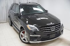 2014_Mercedes-Benz_M-Class_ML63 AMG 4MATIC Performance Package Navigation Entertainment System Divers Assist Heated Rear Seats 360 Camera Running Boards Dual Sunroof_ Avenel NJ