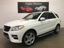 2014_Mercedes-Benz_M-Class One Owner Clean Carfax SERVICED_ML 550 V8 4Matic 20'AMG Wheels Blind Spot Lane Keep_ Addison TX
