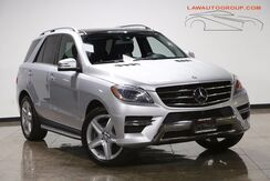 2014_Mercedes-Benz_ML 350 4 MATIC_SPORT PKG PLUS/ PANO ROOF_ Bensenville IL