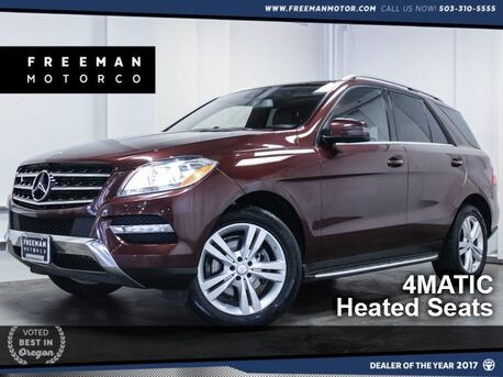 2014_Mercedes-Benz_ML 350_4MATIC Nav Heated Seats Backup Cam_ Portland OR