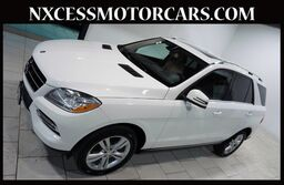 Mercedes-Benz ML350 4MATIC PREMIUM PKG ROOF HEATED SEATS NAVIGATION. 2014