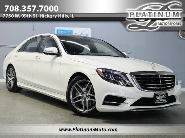 2014 Mercedes-Benz S 550 4 Matic 1 Owner Sport Pano Nav Rear Entertainment Hickory Hills IL