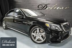 Mercedes-Benz S 63 AMG 4MATIC, Driver Assistance Package, Night-View Assist, Burmester Surround Sound, Panorama Sunroof, 577 HP Twin-Turbo V8 Engine, 2014